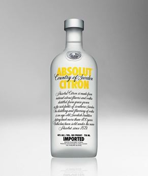 Picture of [Absolut] Citron, 750ML