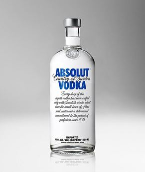 Picture of [Absolut] Original Vodka, 750ML