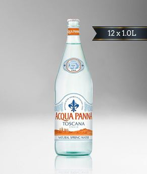 Picture of [Acqua Panna] Spring Water, Glass Bottle With Crown Cap, 12x1.0L