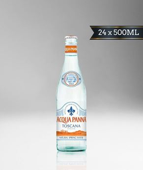 Picture of [Acqua Panna] Spring Water, Glass Bottle With Crown Cap, 24x500ML