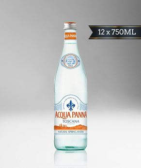 Picture of [Acqua Panna] Spring Water, Glass Bottle With Stelvin Cap, 12x750ML