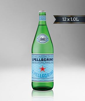 Picture of [S. Pellegrino] Sparkling Water, Glass Bottle With Crown Cap, 12x1.0L