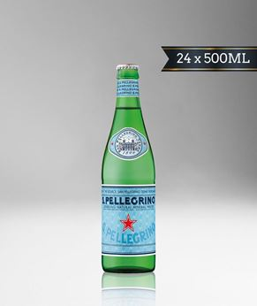Picture of [S. Pellegrino] Sparkling Water, Glass Bottle With Crown Cap, 24x500ML
