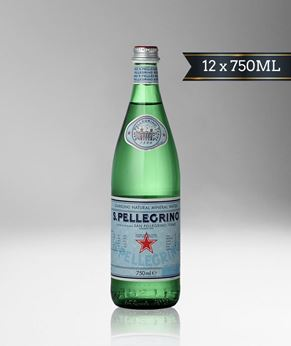 Picture of [S. Pellegrino] Sparkling Water, Glass Bottle With Stelvin Cap, 12x750ML
