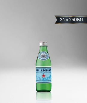 Picture of [S. Pellegrino] Sparkling Water, Glass Bottle With Stelvin Cap, 24x250ML