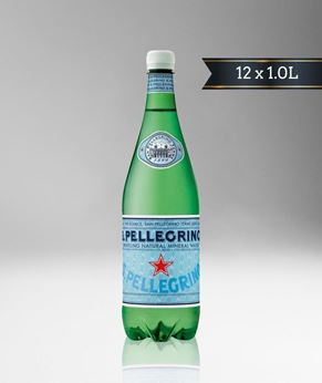 Picture of [S. Pellegrino] Sparkling Water, Pet Bottle, 12x1.0L