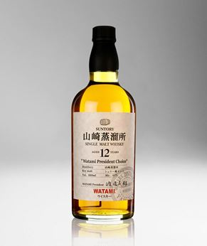 Picture of [Yamazaki] 12 Years Old, Watami President Choice, 660ML