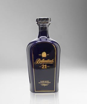 Picture of [Ballantine's] 21 Years Old, Blue Ceramic Decanter, 700ML