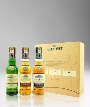 Picture of [Glenlivet] Trio Gift Pack, Miniatures, 3x200ML