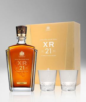 Picture of [Johnnie Walker] John Walker & Sons XR 21, 2018 Festive Gift Pack With 2 Glasses, 750ML
