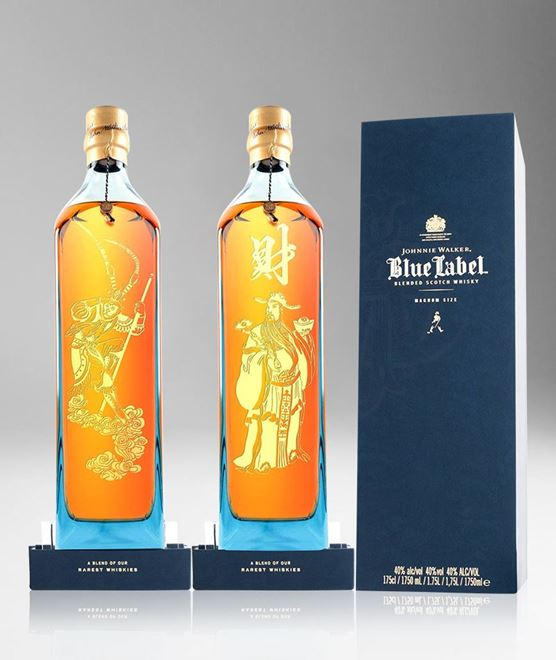 Picture of [Johnnie Walker] Blue Label, Chinese Mythology Collection, Limited Edition 2016, 1.75L