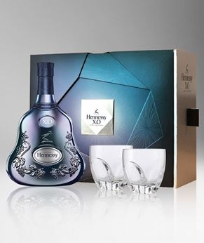 Picture of [Hennessy] X.O. On Ice, Limited Edition 2017, Gift Box With 2 Thomas Bastide Glasses, 700ML