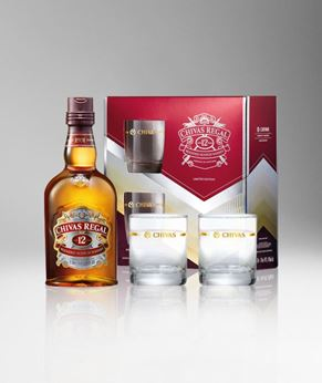 Picture of [Chivas] Chivas Regal 12, 2018 Festive Gift Pack With 2 Glasses, 700ML