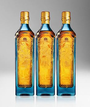 Picture of [Johnnie Walker] Blue Label, Fu Lu Shou Collection, Limited Edition 2018, 750ML