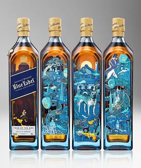 Picture of [Johnnie Walker] Blue Label, Year Of The Dog, Limited Edition 2018, 750ML