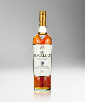 Picture of [The Macallan] Sherry Oak Casks 18 Years Old 2017, 700ML