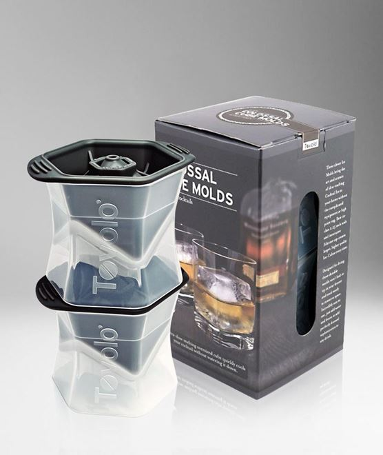 Picture of [Tovolo] Colossal Cube Ice Molds, Set Of 2