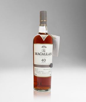 Picture of [The Macallan] Sherry Oak Casks 40 Years Old, 2017 Release, 700ML