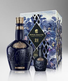 Picture of [Royal Salute] 21 Years Old, 2019 Festive Gift Pack With Miniature, 700ML