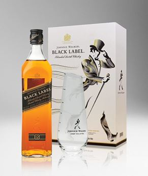 Picture of [Johnnie Walker] Black Label, 2019 Festive Gift Pack With Carafe, 700ML