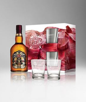 Picture of [Chivas] Chivas Regal 12, 2019 Festive Gift Pack With 2 Glasses, 700ML
