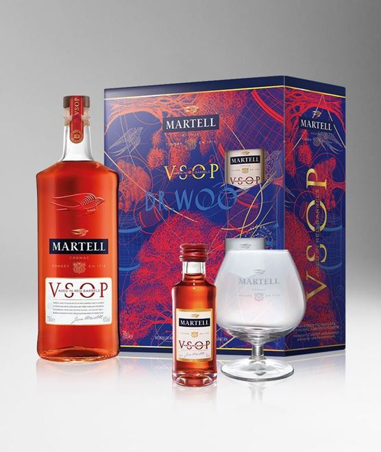 Picture of [Martell] V.S.O.P. Aged in Red Barrels, 2020 Festive Gift Pack, 700ML