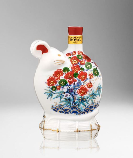 Picture of [Suntory] Royal Zodiac Collection, Year Of The Rat 2020, Ceramic Zodiac Bottle, 600ML