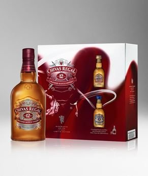 Picture of [Chivas] Chivas Regal 12, 2020 Festive Gift Pack With 2 Miniature, 700ML