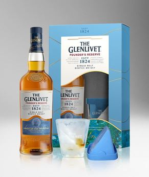 Picture of [Glenlivet] Founder's Reserve, 2020 Festive Gift Pack, 700ML