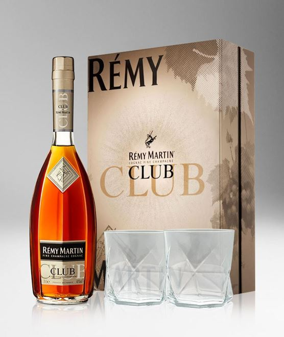 Picture of [Remy Martin] Club, 2020 Festive Gift Pack With 2 Glasses, 700ML